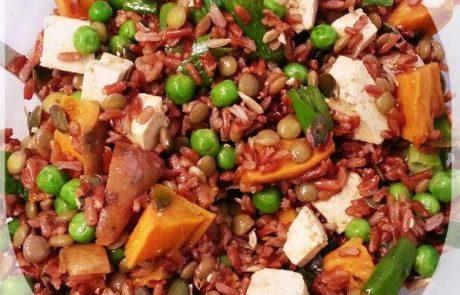 מתכון טופו עם אורז אדום – סיגל ביצור